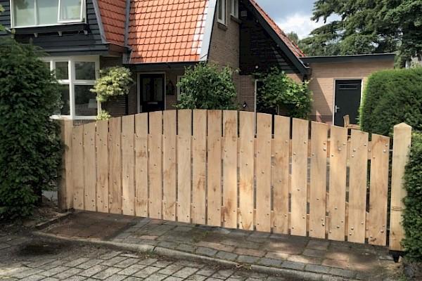 Uitgelezene Houten poort kopen?   Beste prijs-kwaliteit   Bereken nu - Royal Fence FO-99